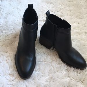 New Gap seamed booties